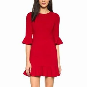 NWT Black Halo Brooklyn Dress in Bonfire Red 6